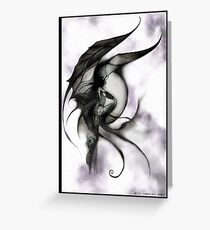 demon fairy Greeting Card