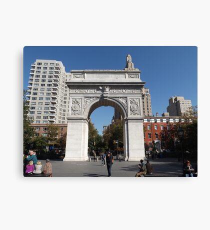 Washington Square Arch, Washington Square Park, New York City Canvas Print
