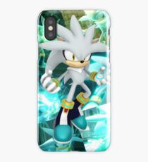 Silver The Hedgehog Poster [Photoshop] iPhone Case/Skin