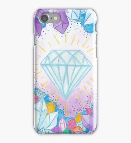 Diamonds & Gems  iPhone Case/Skin