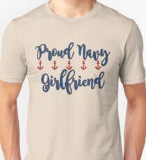 Proud Navy Girlfriend Unisex T-Shirt