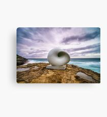 Sculptures by the Sea - Shell Canvas Print