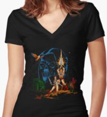 Star Masters Women's Fitted V-Neck T-Shirt