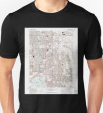 USGS TOPO Map Colorado CO Fitzsimons 232996 1965 24000 T-Shirt