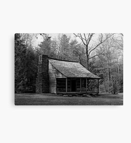 Carter Shields Cabin Canvas Print