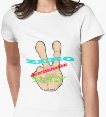1st March - Zero Discrimination Day Women's Fitted T-Shirt