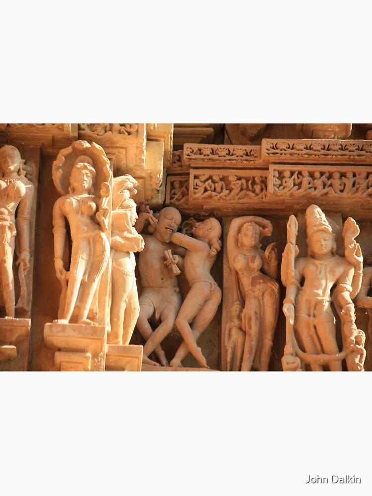 Khajuraho, birthplace of the Karma Sutra by JohnDalkin