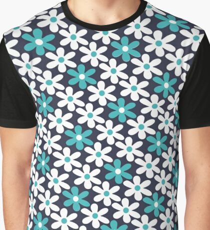 abstract flower pattern Graphic T-Shirt