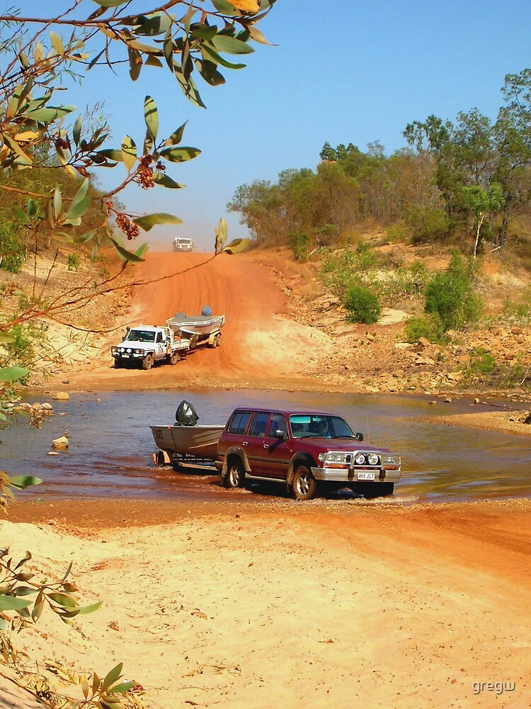 Road to Boorooloola, Northern Territory, Australia by gregw