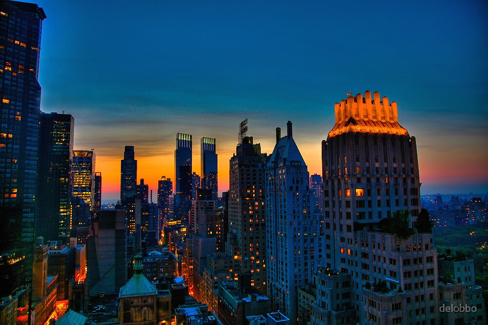Looking West from 6th Street, NYC, part deux. by delobbo