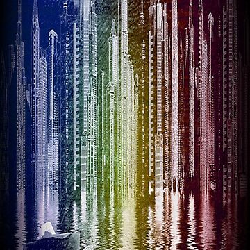 Rainbow City by gwendellin