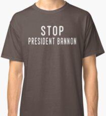 Stop Steve Bannon Classic T-Shirt