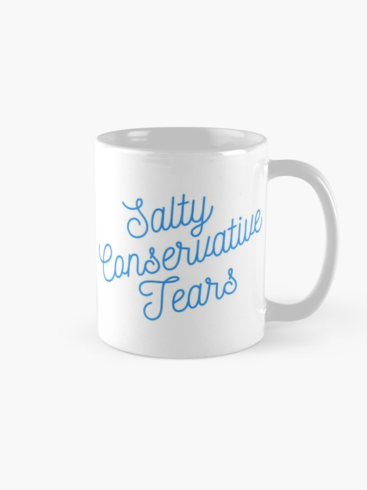 Alternate view of Mugocracy : Salty Conservative Tears (Blue) Mug