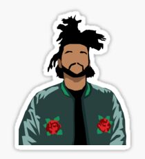 Weeknd Roses Sticker