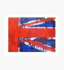 Collage Union Jack Art Print