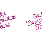 Mugocracy : Salty Conservative Tears (Pink) by merimeaux