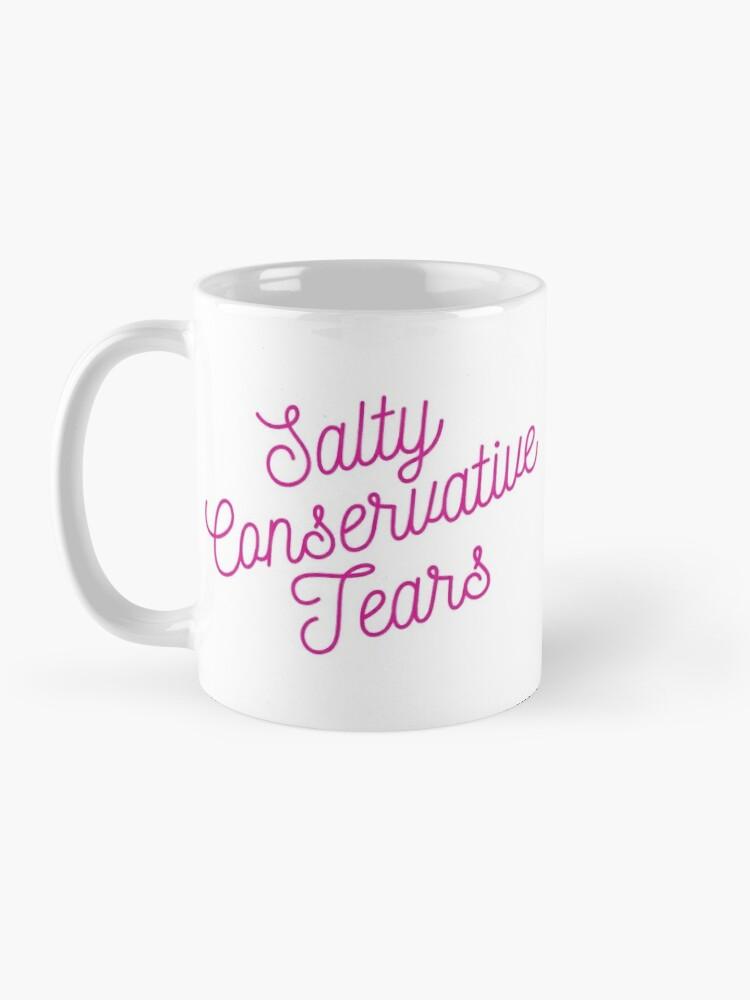 Alternate view of Mugocracy : Salty Conservative Tears (Pink) Mug