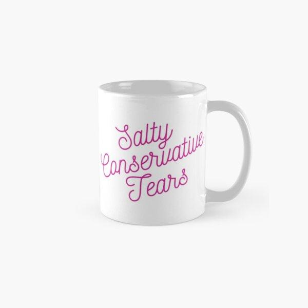 Mugocracy : Salty Conservative Tears (Pink) Classic Mug