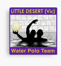 The Little Desert Water Polo Team Canvas Print