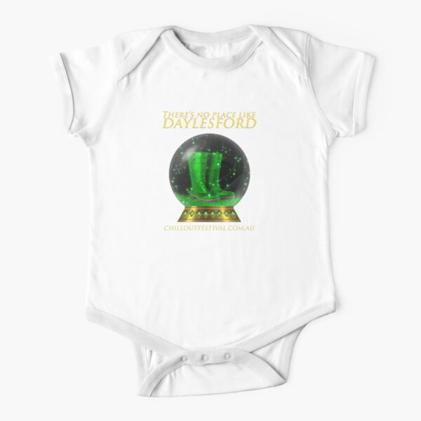 ChillOut 2017  Short Sleeve Baby One-Piece