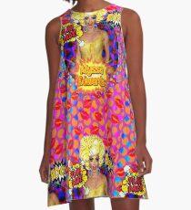 """Alyssa Edwards """"TonguePopArt"""" A-Line Dress"""