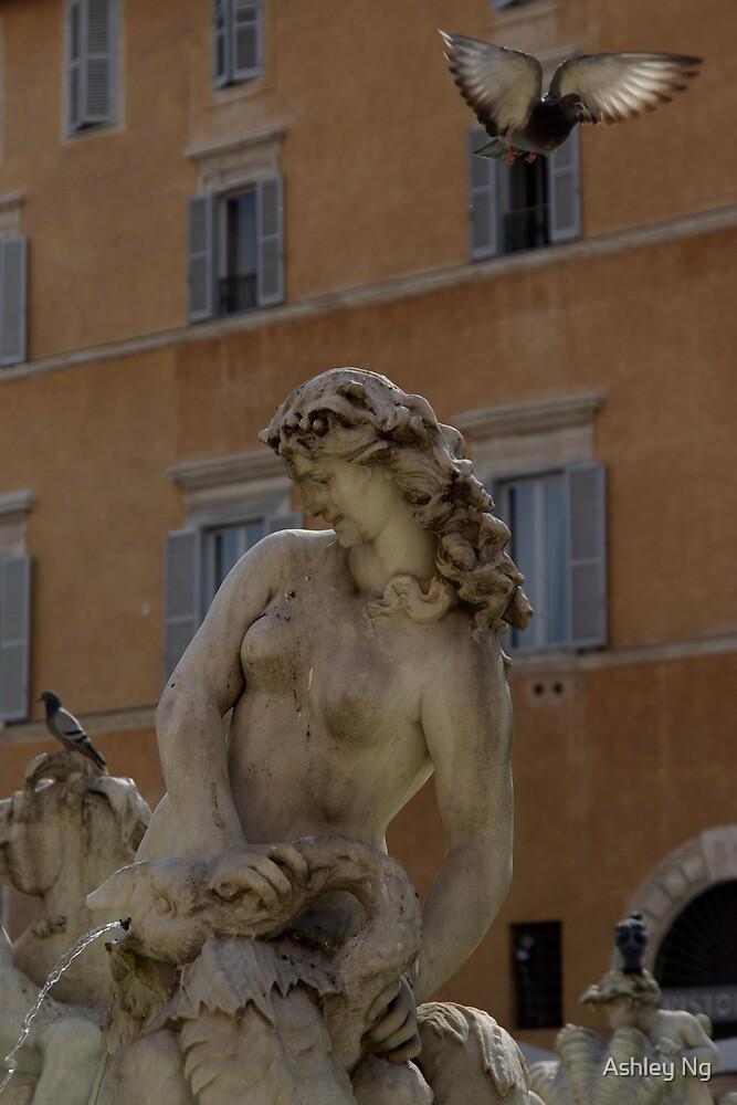 Roman Fountain II by Ashley Ng