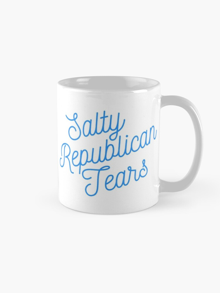 Alternate view of Mugocracy : Salty Republican Tears (Blue) Mug