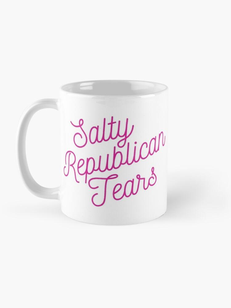 Alternate view of Mugocracy : Salty Republican Tears (Pink) Mug
