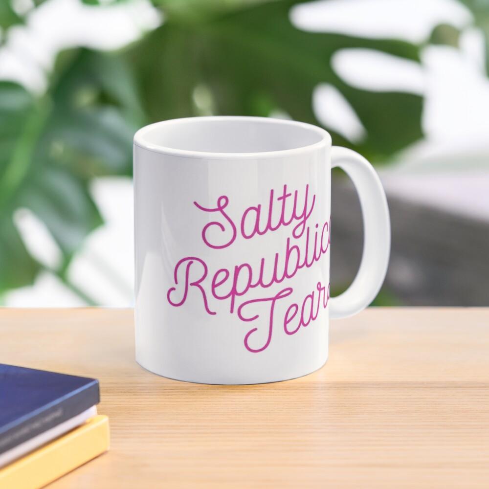 Mugocracy : Salty Republican Tears (Pink) Mug