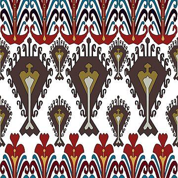 Bukhara motif 1 by sriknick