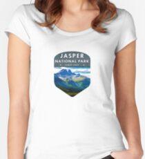 Jasper National Park 2 Women's Fitted Scoop T-Shirt