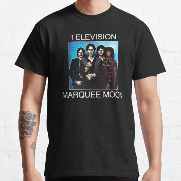 Television Marquee Moon Shirt, Sticker, Mask Classic T-Shirt