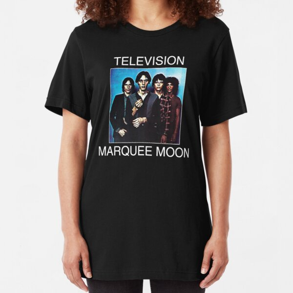Television Marquee Moon Shirt Slim Fit T-Shirt