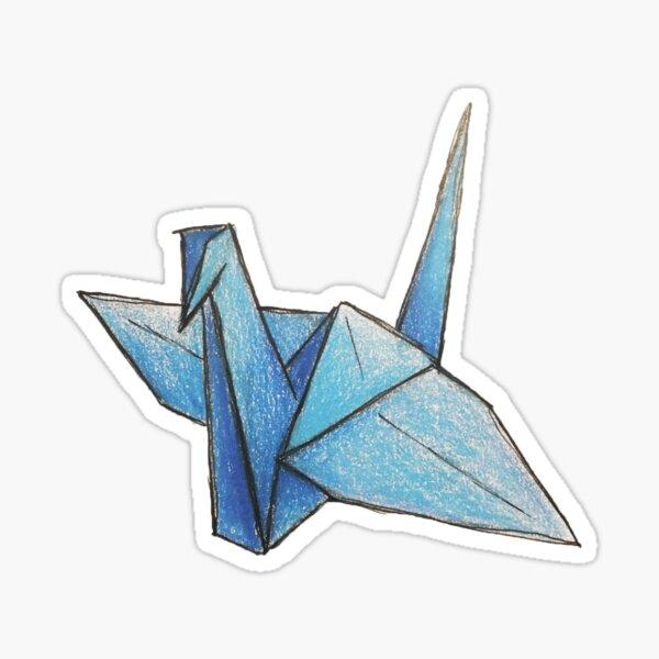 Paper crane Sticker