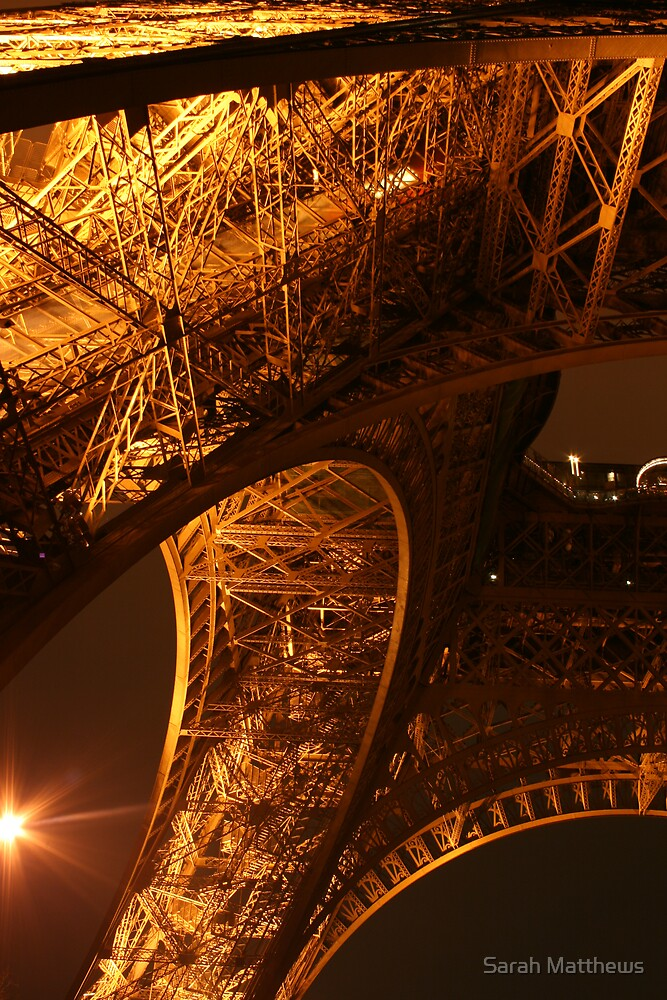 Starlight and the Eiffel Tower by Sarah Matthews