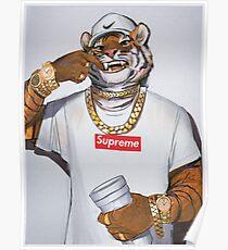 Fallen Tiger Poster