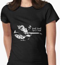 Hail, Hail Chuck Berry Womens Fitted T-Shirt