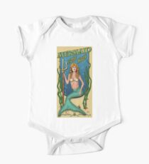 Mermaid Bath Salts One Piece - Short Sleeve