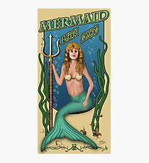 Mermaid Bath Salts Photographic Print