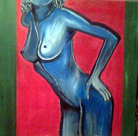FEELING BLUE by jeany