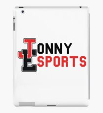 Jonny Esports (Black Font) iPad Case/Skin