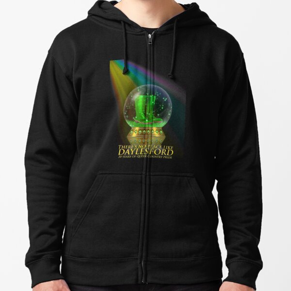 ChillOut Rainbow 20 years Zipped Hoodie