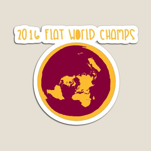 Cleveland Cavaliers Flat World Champions Magnet