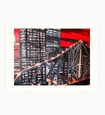 Storey Bridge  Art Print