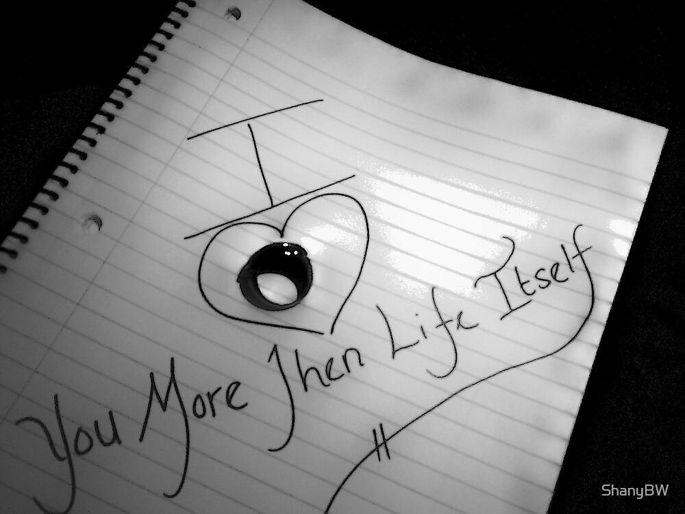 """Imperfect Love"" by ShanyBW"