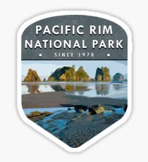 Pacific Rim National Park 2 Sticker