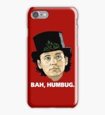 Bah, Humbug. iPhone Case/Skin