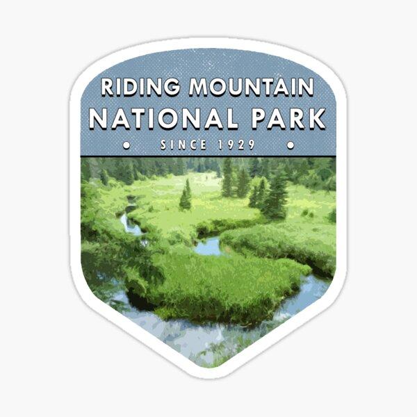 Riding Mountain National Park 2 Sticker