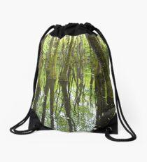 Cypress Swamp Drawstring Bag
