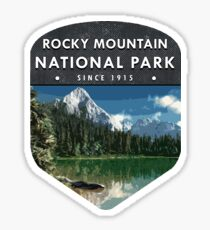 Rocky Mountain National Park 2 Sticker
